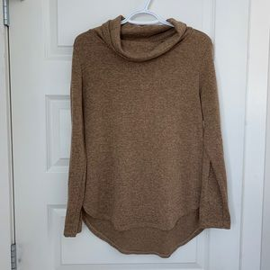 Sweaters - Camel cowl neck